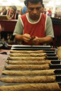 Crafting cigars requires sharp focus, Drew Estate, Esteli, Nicaragua