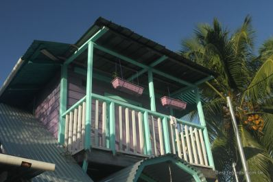 Colourful houses of Bocas Town, Panama