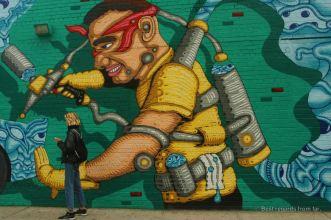 Graffiti wall in NYC