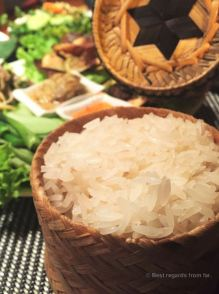 The paramount sticky rice, a taste of Laos