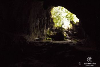 Mouth of the Muang Ngoy Neua cave, Laos