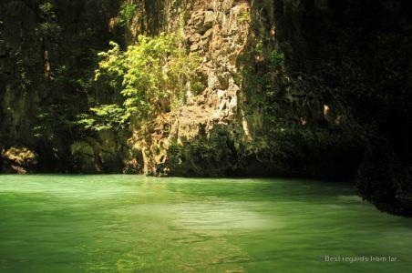 The lagoons of Koh Kong, Phang Nga bay, Thailand