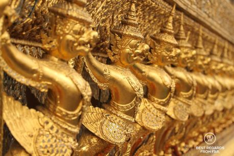 Garudas in the Grand Palace, Bangkok, Thailand