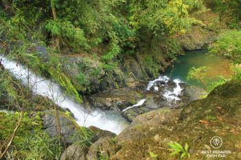 Waterfalls and natural pools of Khao Sok National Park, Thailand