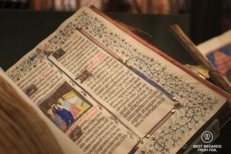 Gothical missal, the Morgan Library, New York City