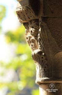 The medieval Cité de Carcassonne, details, France