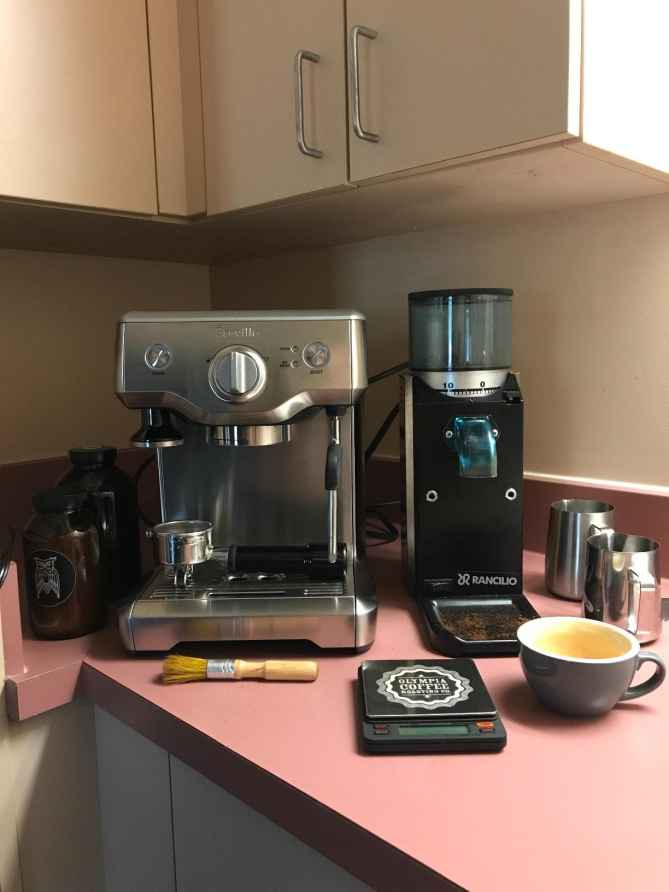 breville duo temp pro espresso machine stainless steel review