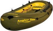 AIRHEAD AHIBF-06 Angler Bay 6 Person Inflatable Boat