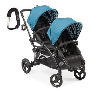 Contours Options Elite Tandem Stroller Laguna