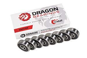 Fireball Dragon Precision Bearings for Skateboards
