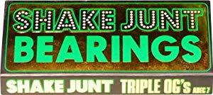 SHAKEJUNT TRIPLE OG'S A-7 SKATE BEARINGS