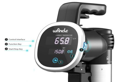 wancle sous vide display