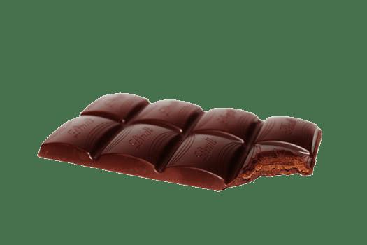 Chocolate and Bananas Bars with Walnuts chocolate