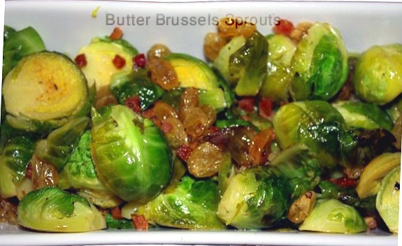 butter brussels sprouts