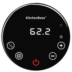KitchenBoss sous vide cooker display