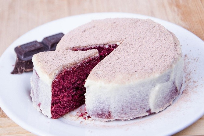 Sous Vide Recipe: Red Velvet Cake