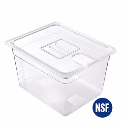 Anmade bpa free sous vide container that amazon best seller list