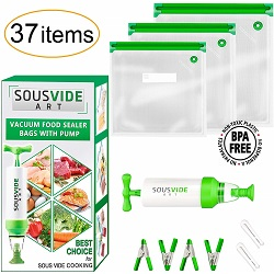 SousVideArt sous vide bags in amazon best sellers