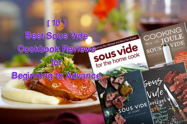 top 10 sous vide recipe book