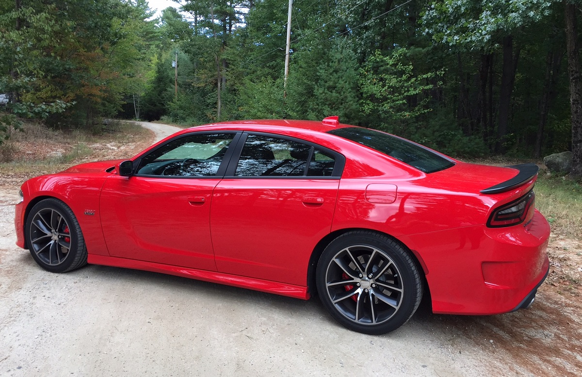 2015 Dodge Charger RT Scat Pack Profile