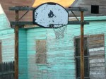 Basketball goal in San Angelo, TX