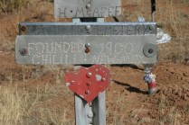 Garland Cemetery in Chilili, NM
