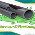 PVC pipes leak