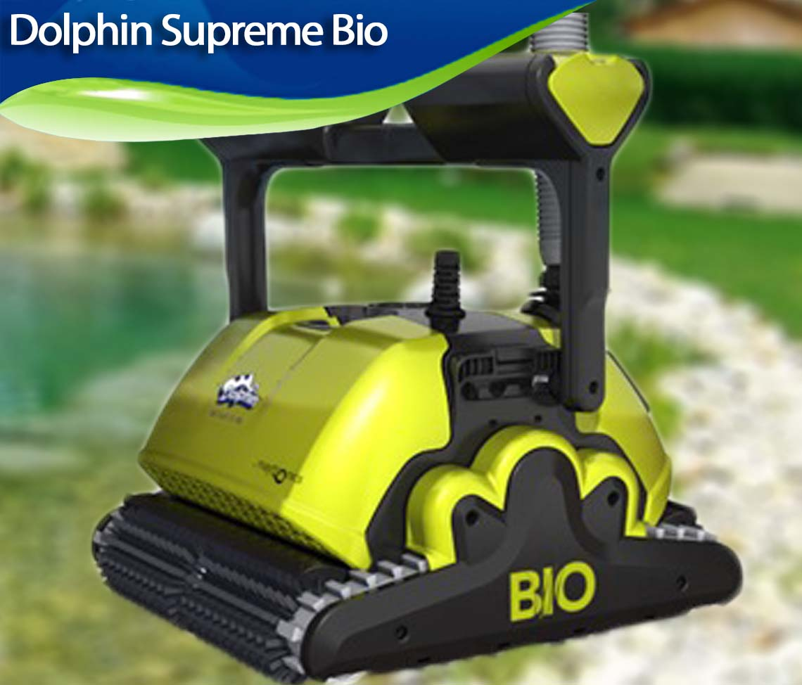 Zodiac Pool Care Europe dolphin supreme bio review - best robotic pool cleaners