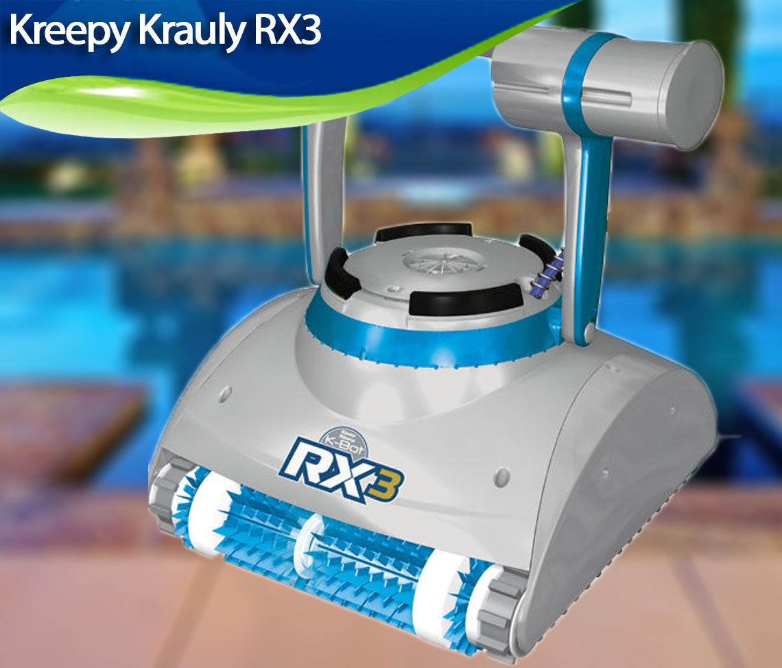 Kreepy Krauly Rx3 Review Best Robotic Pool Cleaners