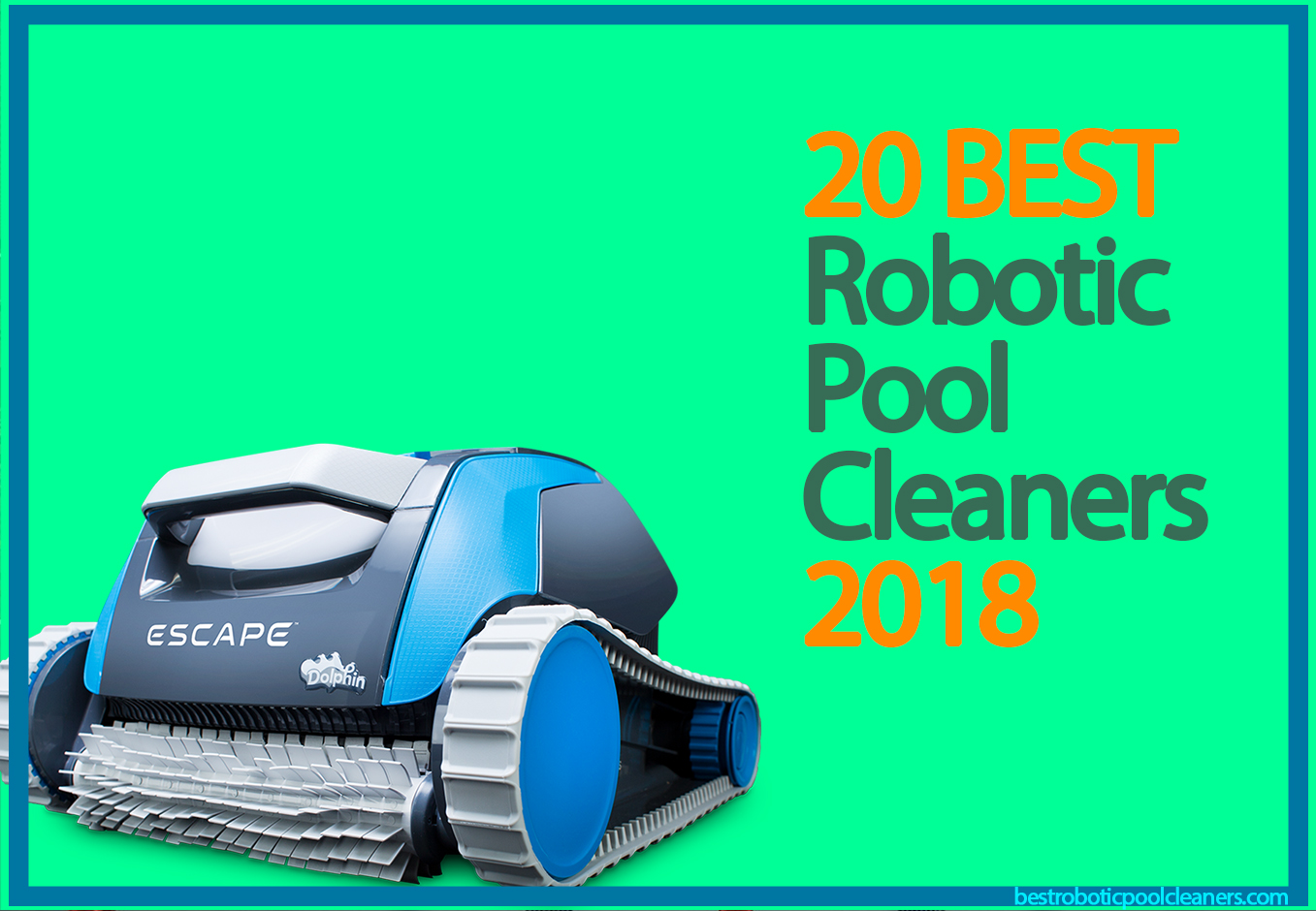 Zodiac Pool Care Europe 20 best robotic pool cleaners for 2018 - best robotic pool