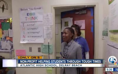 Atlantic High School Student Recognized for Efforts to Combat Bullying