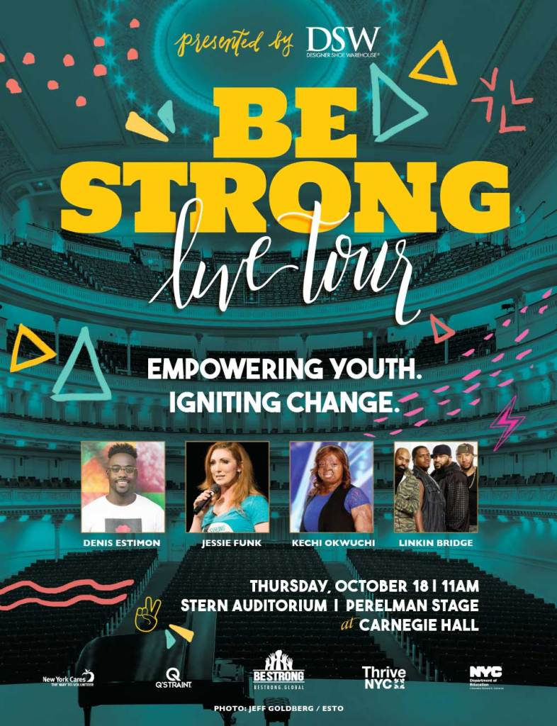 Be Strong » 2018 NYC Event Poster
