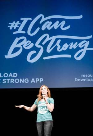 Jessie Funk I can Be Strong » Be Strong Speakers Bureau