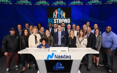 Be Strong Rings the Nasdaq Closing Bell