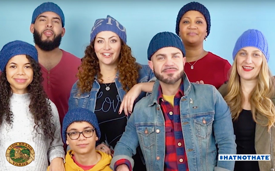 Be Strong Announces Partnership with Lion Brand Yarn's 'Hat Not Hate'