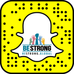 Be Strong Snapcode!