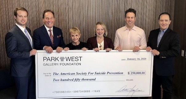 Park West + American Society for Suicide Prevention