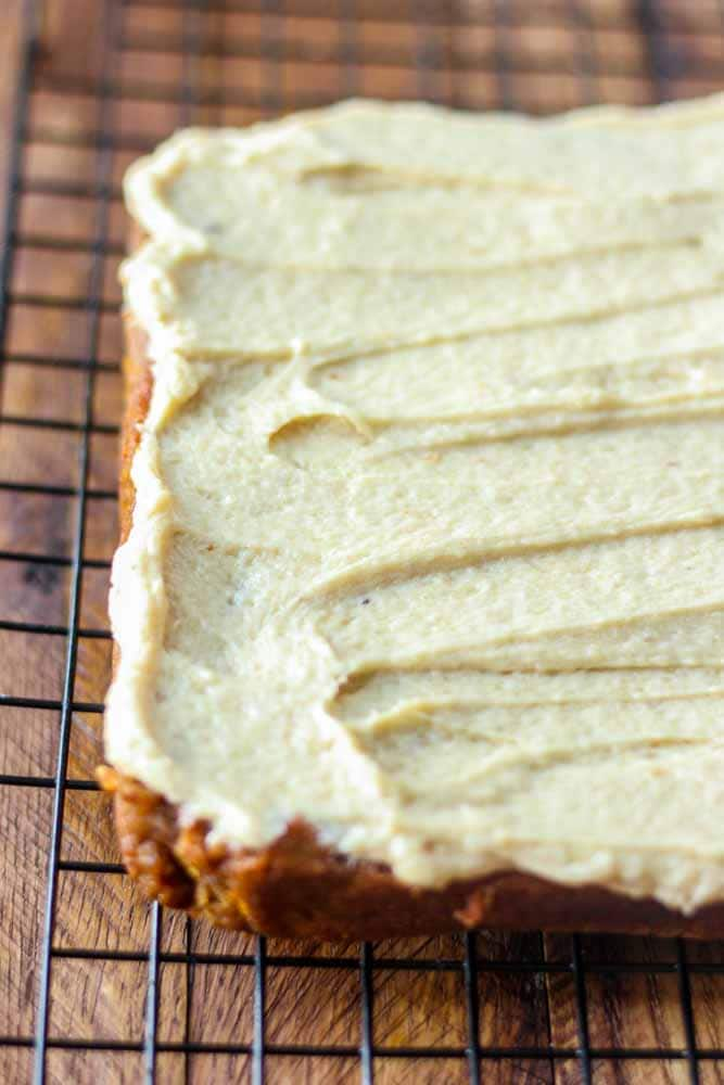 paleo pumpkin bars with maple frosting2