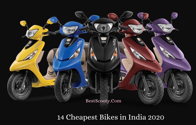 14 cheapest scooty in india