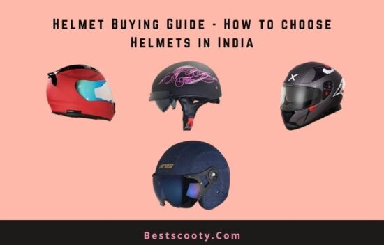 Helmet buying guide in India