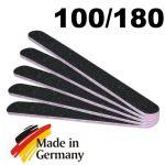 Schwarz 100/180 Kernfarbe pink/rot - 5er Pack