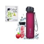 Bundle: Rezeptbuch + Trinkflasche - Lavish Plum - Rot Violett
