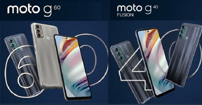 Moto G60 and Moto G40 Fusion, Great Mobiles with features in low price