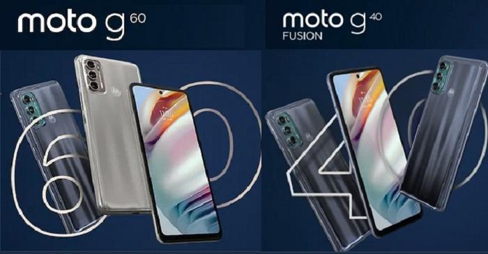 Moto G60 and Moto G40
