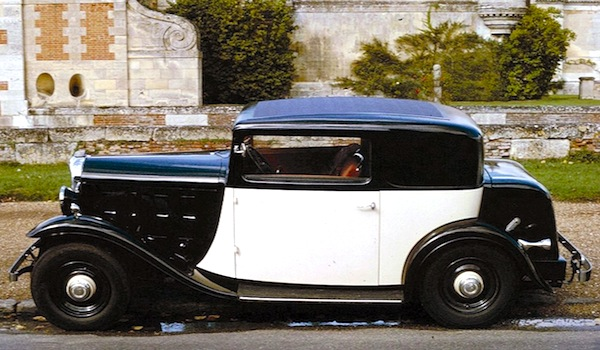Citroen Rosalie France 1933. Picture courtesy of wikipedia