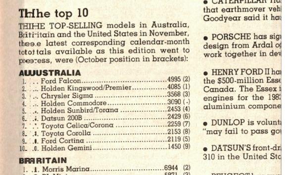 Australia November 1978