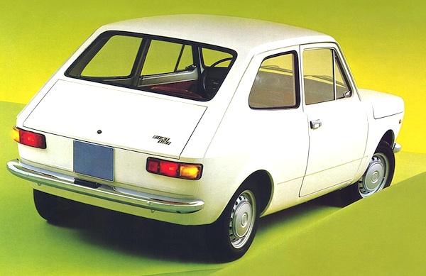 Fiat 127 Europe 1974
