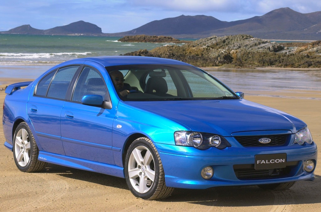 Australia 2003 Ford Falcon Teases Holden Commodore Best