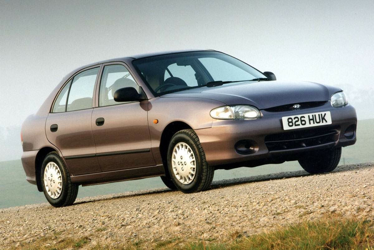 I have no more information for the south korean 1997 car market than the name of the market leader the hyundai accent and the total new car sales figures