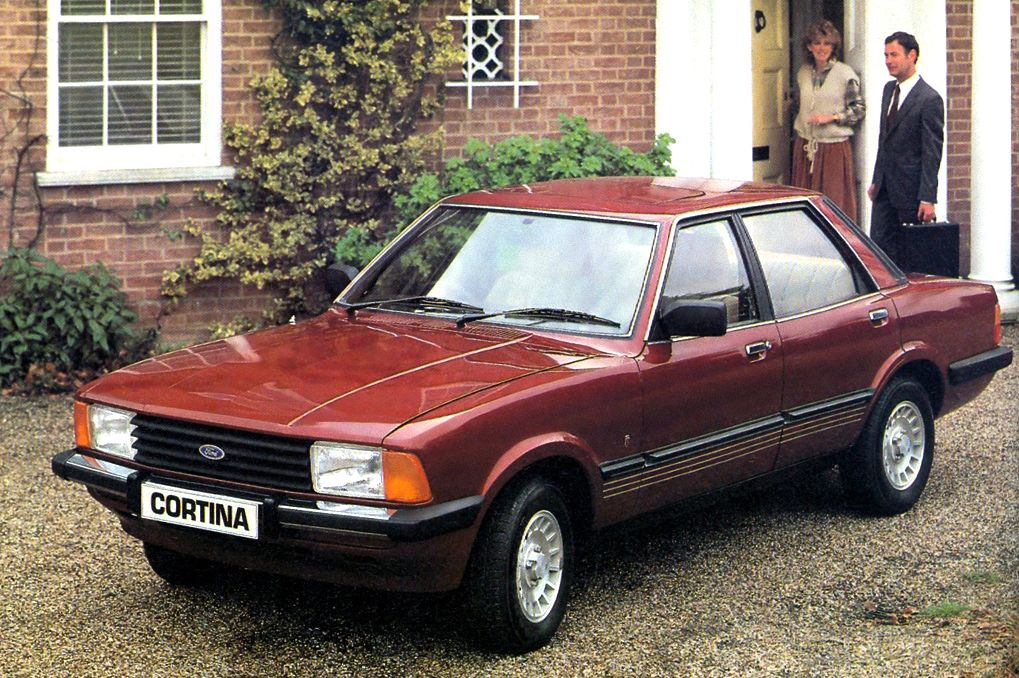 UK 1980-1981: Ford Cortina, Escort and Fiesta on top ...